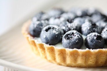 Bilberry tart