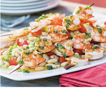 recipes - shrimp & white beans