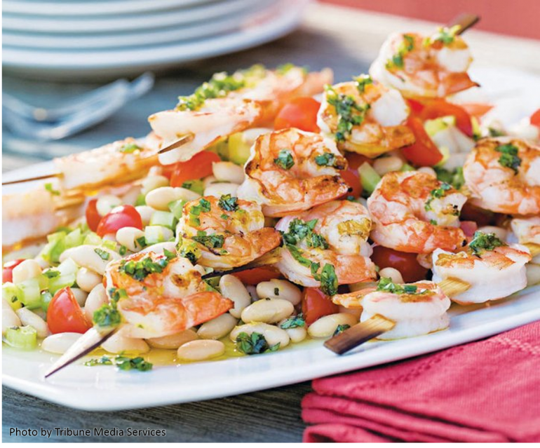 recipes - shrimp & white beans
