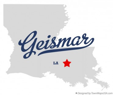 regional - geismar, la - map_of_geismar_la