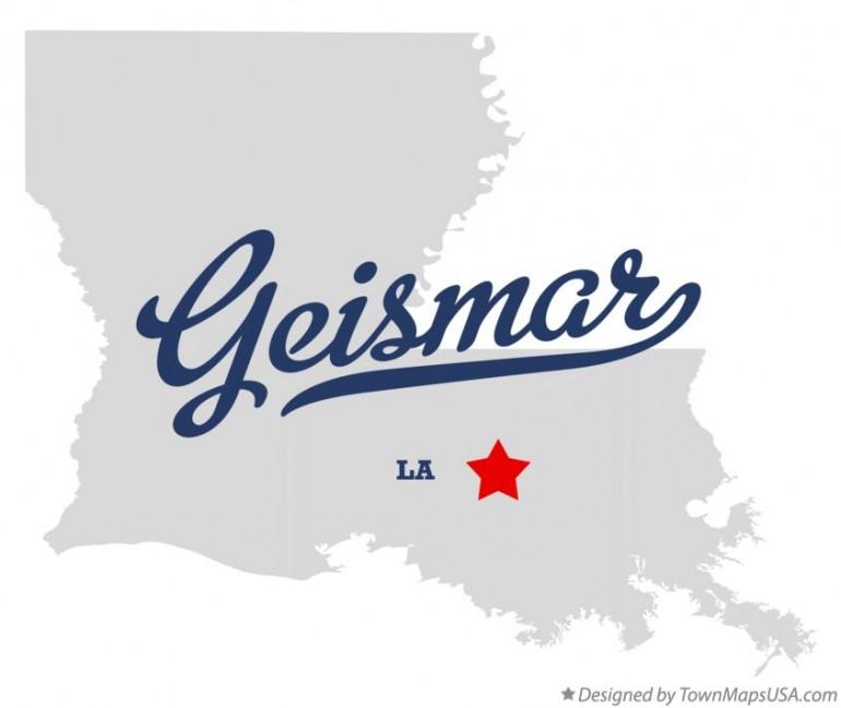 regional - geismar, la - map_of_geismar_la